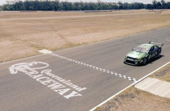 More hot work for Ambrose at Queensland Raceway