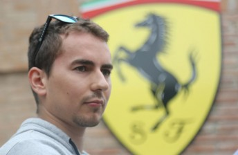 Aussie joins Jorge Lorenzo for Ferrari GT tilt