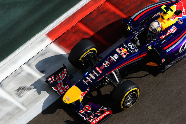 Red Bull relegated to the back of the grid after rule breach
