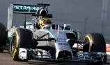 Mercedes ends Abu Dhabi test on top