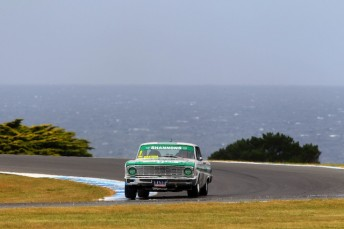 An suspected piston failure has robbed Jim Richards of a shot at sealing successive TCM titles at Phillip Island