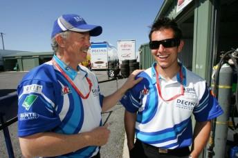 Jim Morton with Michael Caruso