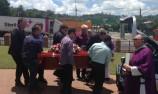 Moving tributes at Jamey Blaikie funeral
