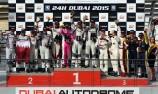MARC Cars celebrate Dubai 24 class win