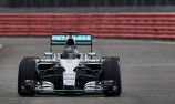Mercedes uncovers car in Silverstone shakedown