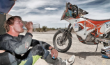 Young Aussie Price stars on Dakar Rally debut