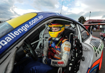 Fraser Ross will move up to the Carrera Cup