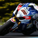 Alex Lowes on top in Island Superbike practice