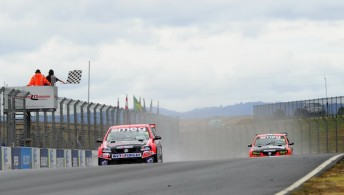 The previous round of the NZ SuperTourers saw a field of eight cars contest the tri-race meeting at Hampton Downs