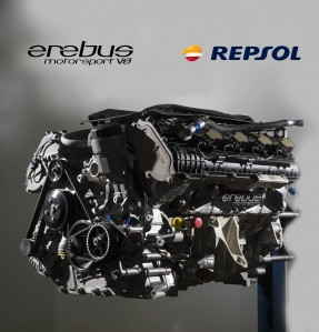 Repsol has partnered with Erebus Motorsport
