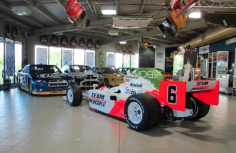 Penske IndyCar, NASCAR added to DJR museum