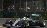 Hamilton blitzes Albert Park to secure pole