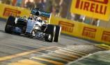 Hamilton asserts authority as Ricciardo struggles