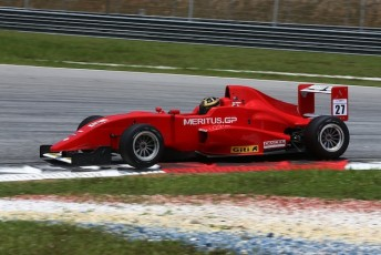 Jake Parsons topped the pre-season test at Sepang ahead of the Formula Masters China series starting in Malaysia next month