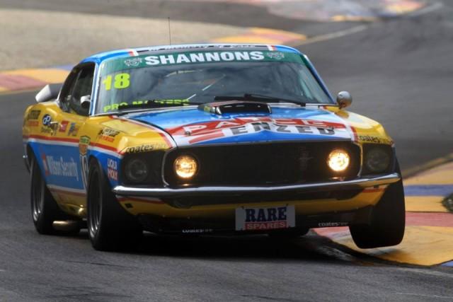 Steven Johnson will take the controls of John Bowe's Mustang at Symmons Plains