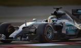 Mercedes downplays pre-season advantage