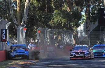 Mostert 'gutted' after late Whincup clash