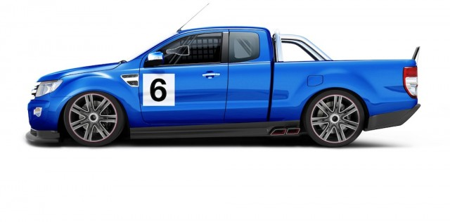 A category supplied graphic of the next generation Ford Ute