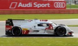 Audi holds on for victory amid penalty drama