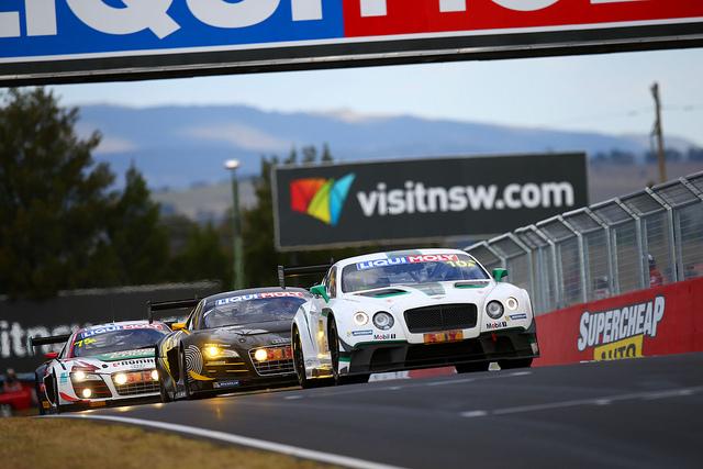 The 2015 Bathurst 12 Hour provide a platform for manufacturers like Bentley