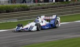 Castroneves nabs pole from Power in Alabama