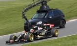 Lotus F1 at Brands Hatch. Lotus E23 Hybrid.
