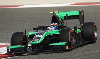 Richie Stanaway joins Bahrain GP2 grid