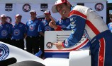 Castroneves on pole as disaster strikes Power