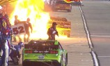NASCAR reviews safety after pit fire