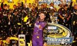 Hamlin takes out NASCAR All-Star race