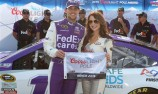 Hamlin takes pole at the Monster Mile