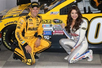 Kenseth scored his second pole of the season