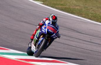 Jorge Lorenzo proved untouchable in the Italian Grand Prix