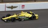 Sage Karam tops opening Indy 500 practice