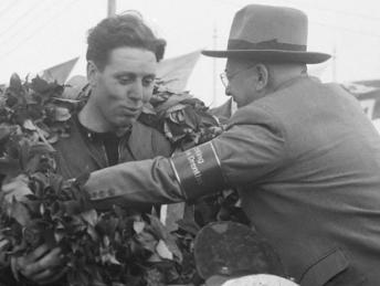 Geoff Duke pictured in 1951