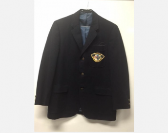The 100mph Club jacket awarded to Mario Andretti in 1965