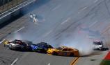 Crew members hurt in NASCAR crash