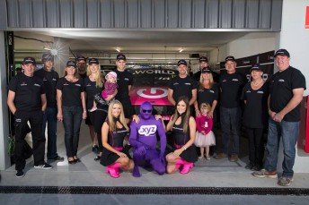 Lentino says fun is an important factor in his V8 Supercars effort