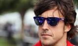 Alonso fastest as Vettel crashes again