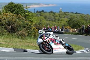 John McGuinness took the TT Zero electric bike race