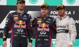 Mark Webber tips bucket on Red Bull