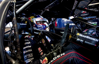 Jamie Whincup endured another tough run at Hidden Valley