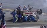 Dillon escapes massive crash at Daytona 400