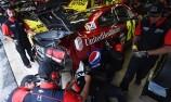 NASCAR stars collide off track