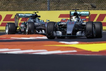Lewis Hamilton scorched his way to pole position in Hungary