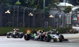 Singapore Formula 1 track undergoes changes