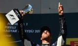 Ricciardo grateful for podium after Rosberg clash