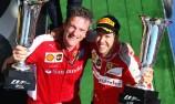 Vettel dedicates Hungary triumph to Bianchi