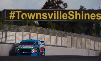 Chaz Mostert fell to eighth in the closing stages of Race 16