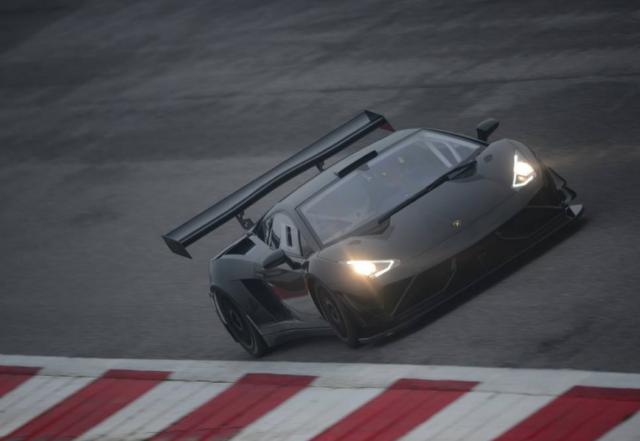 Lago had planned to debut his new Lamborghini at Spa